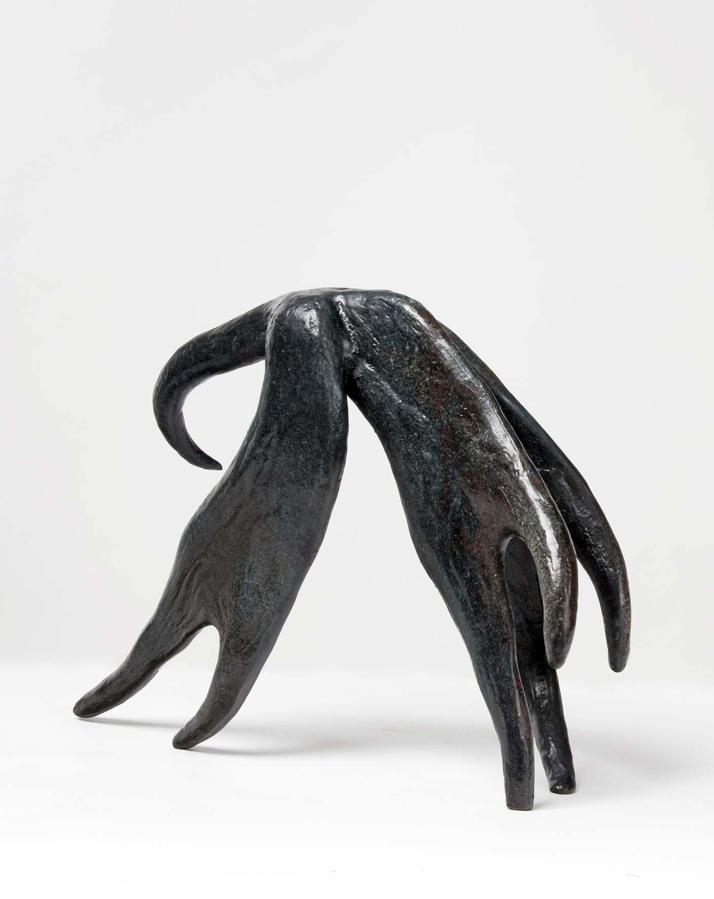Beatrice Magalotti_Valkyrie_21 x 25 x7 cm_Bronze