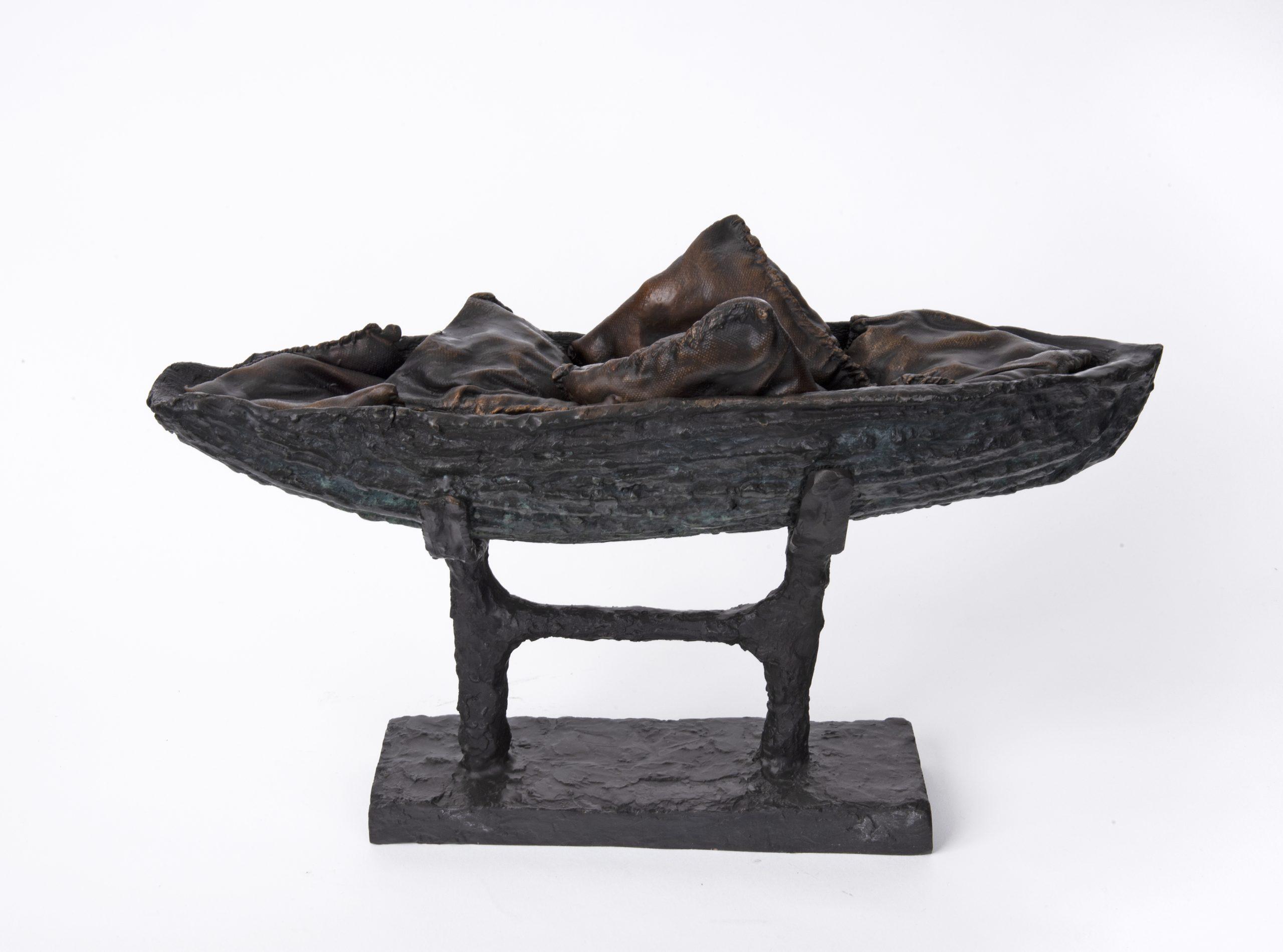 Beatrice Magalotti_Mirgration Series 1_Bronze_25 x 41 x 11 cm