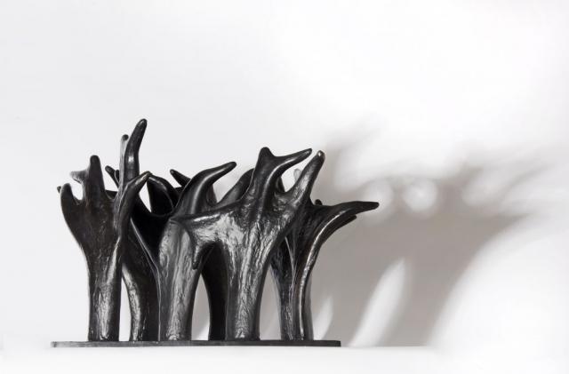 Beatrice Magalotti_Forest (Myrkviðr)_Bronze_24 x 38 x 34 cm